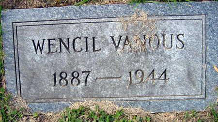 VANOUS, WENCIL - Linn County, Iowa | WENCIL VANOUS