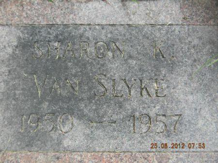 VAN SLYKE, SHARON K. - Linn County, Iowa   SHARON K. VAN SLYKE