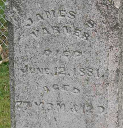 VARNER, JAMES S. - Linn County, Iowa | JAMES S. VARNER