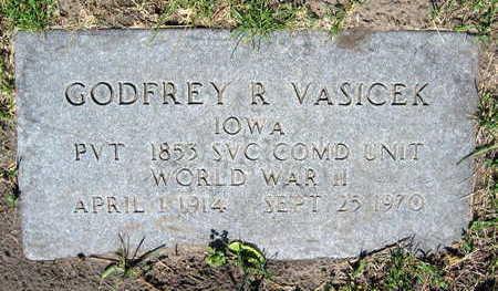VASICEK, GODFREY R. - Linn County, Iowa   GODFREY R. VASICEK