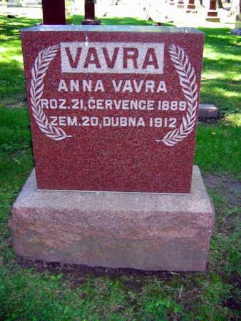 VAVRA, ANNA - Linn County, Iowa | ANNA VAVRA