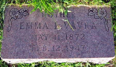 VAVRA, EMMA L. - Linn County, Iowa   EMMA L. VAVRA