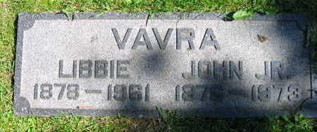 VAVRA, JOHN JR. - Linn County, Iowa | JOHN JR. VAVRA