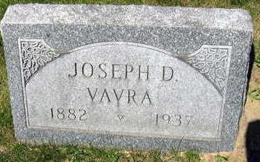 VAVRA, JOSEPH D. - Linn County, Iowa | JOSEPH D. VAVRA