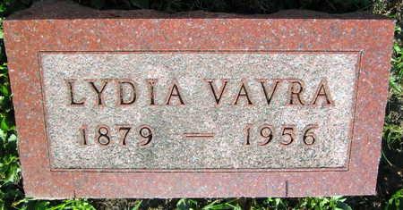 VAVRA, LYDIA - Linn County, Iowa   LYDIA VAVRA