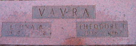 VAVRA, THEODORE F. - Linn County, Iowa | THEODORE F. VAVRA
