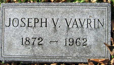VAVRIN, JOSEPH V. - Linn County, Iowa   JOSEPH V. VAVRIN