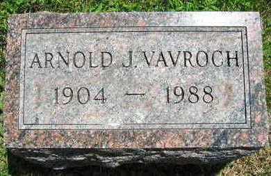 VAVROCH, ARONLD J. - Linn County, Iowa   ARONLD J. VAVROCH