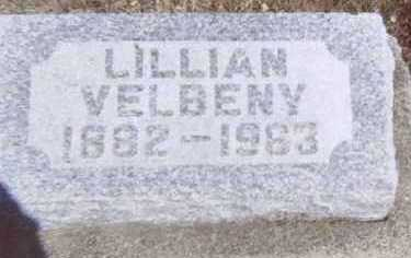 VELBENY, LILLIAN - Linn County, Iowa | LILLIAN VELBENY