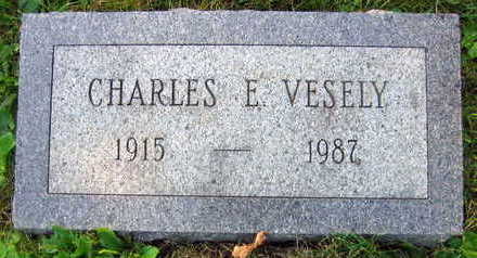 VESELY, CHARLES E. - Linn County, Iowa | CHARLES E. VESELY