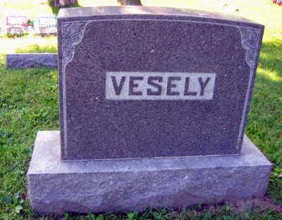 VESELY, FAMILY STONE - Linn County, Iowa | FAMILY STONE VESELY