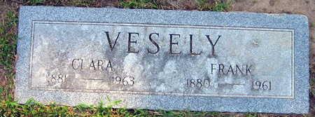 VESELY, FRANK - Linn County, Iowa | FRANK VESELY