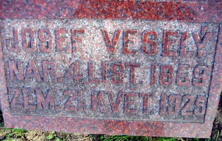 VESELY, JOSEF - Linn County, Iowa | JOSEF VESELY