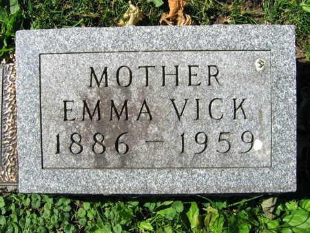 VICK, EMMA - Linn County, Iowa   EMMA VICK