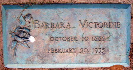VICTORINE, BARBARA - Linn County, Iowa   BARBARA VICTORINE
