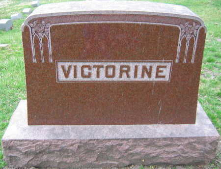 VICTORINE, FAMILY STONE - Linn County, Iowa | FAMILY STONE VICTORINE