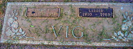 VIG, OBED E. - Linn County, Iowa | OBED E. VIG
