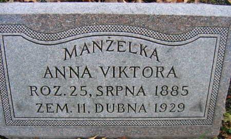 VIKTORA, ANNA - Linn County, Iowa | ANNA VIKTORA