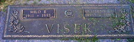 VISEK, MILO F. - Linn County, Iowa | MILO F. VISEK