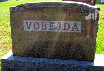 VOBEJDA, FAMILY STONE - Linn County, Iowa   FAMILY STONE VOBEJDA