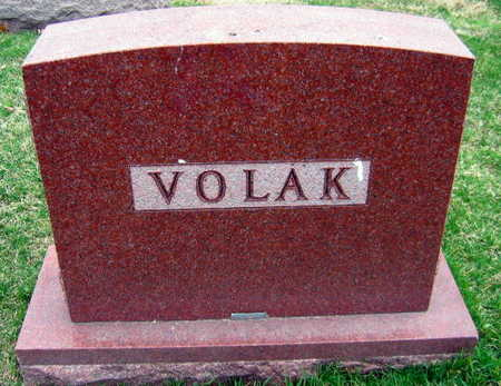 VOLAK, FAMILY STONE - Linn County, Iowa | FAMILY STONE VOLAK