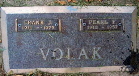 VOLAK, PEARL F. - Linn County, Iowa | PEARL F. VOLAK