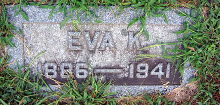 VOLESKY, EVA K. - Linn County, Iowa | EVA K. VOLESKY