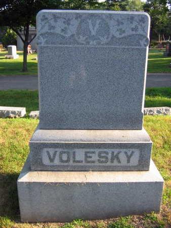 VOLESKY, FAMILY STONE - Linn County, Iowa | FAMILY STONE VOLESKY