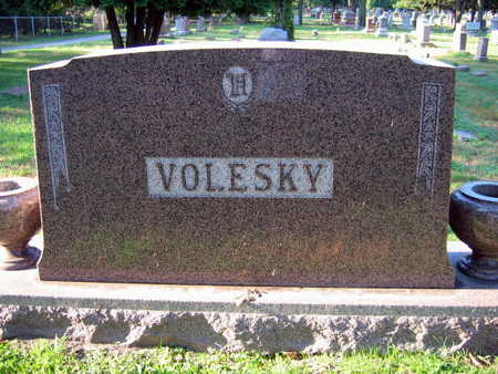 VOLESKY, FAMILY STONE - Linn County, Iowa   FAMILY STONE VOLESKY