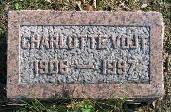 VOJT, CHAROLOTTE - Linn County, Iowa | CHAROLOTTE VOJT