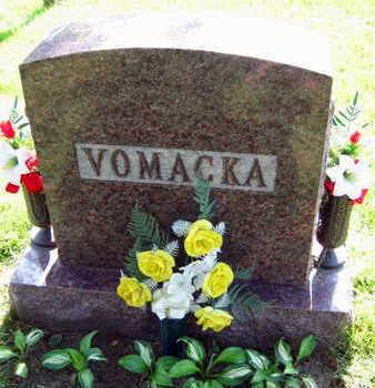 VOMACKA, FAMILY STONE - Linn County, Iowa | FAMILY STONE VOMACKA