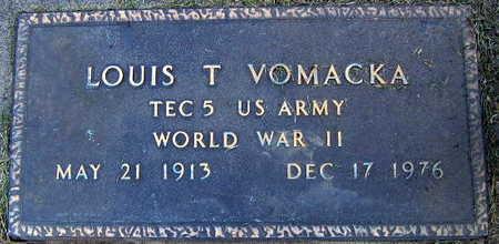 VOMACKA, LOUIS T. - Linn County, Iowa   LOUIS T. VOMACKA
