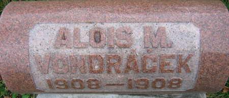 VONDRACEK, ALOIS M. - Linn County, Iowa   ALOIS M. VONDRACEK