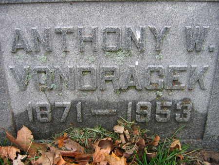 VONDRACEK, ANTHONY W. - Linn County, Iowa | ANTHONY W. VONDRACEK