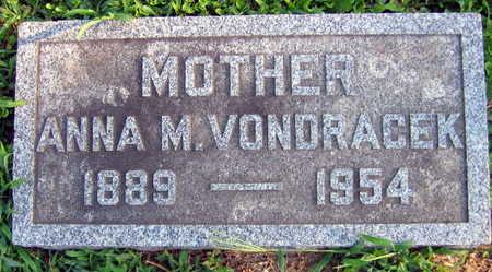 VONDRACEK, ANNA M. - Linn County, Iowa | ANNA M. VONDRACEK