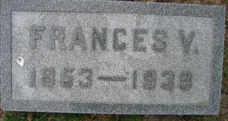VONDRACEK, FRANCES V. - Linn County, Iowa   FRANCES V. VONDRACEK