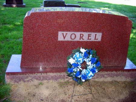 VOREL, FAMILY STONE - Linn County, Iowa   FAMILY STONE VOREL