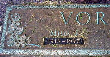 VOREL, MILO J. - Linn County, Iowa | MILO J. VOREL