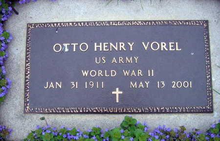 VOREL, OTTO HENRY - Linn County, Iowa | OTTO HENRY VOREL