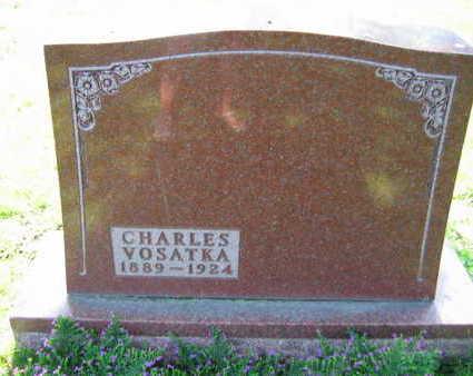 VOSATKA, CHARLES - Linn County, Iowa | CHARLES VOSATKA