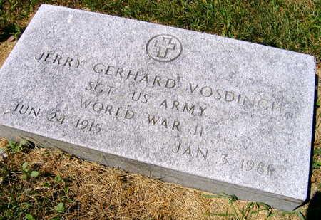 VOSDINGH, JERRY GERHARD - Linn County, Iowa | JERRY GERHARD VOSDINGH