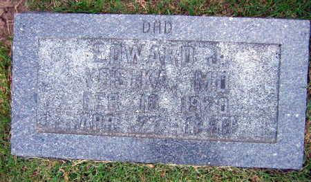 VOSIKA, EDWARD J. M.D. - Linn County, Iowa   EDWARD J. M.D. VOSIKA