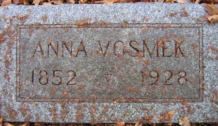 VOSMEK, ANNA - Linn County, Iowa   ANNA VOSMEK