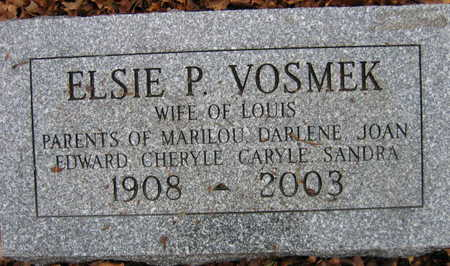 VOSMEK, ELSIE P. - Linn County, Iowa | ELSIE P. VOSMEK