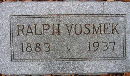 VOSMEK, RALPH - Linn County, Iowa   RALPH VOSMEK