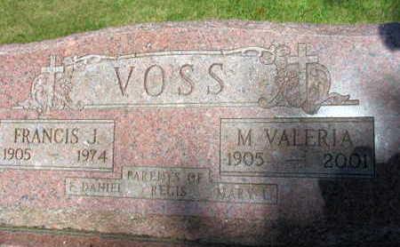 VOSS, M. VALERIA - Linn County, Iowa   M. VALERIA VOSS