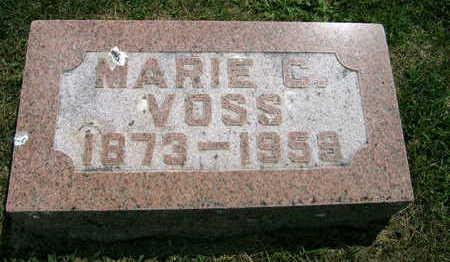 VOSS, MARIE C. - Linn County, Iowa | MARIE C. VOSS