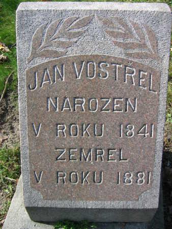 VOSTREL, JAN - Linn County, Iowa   JAN VOSTREL
