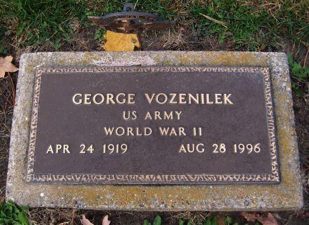 VOZENILEK, GEORGE - Linn County, Iowa | GEORGE VOZENILEK