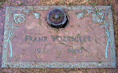 VOZENILEK, FRANK - Linn County, Iowa | FRANK VOZENILEK